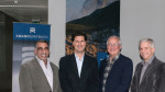 From left, CAP CEO Rob Nazzal, Amann Girrbach CEO Marco Ratz, CAP President Bob Cohen, and CAP CFO Richard Tinsley.