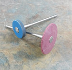 Fig 10. Wagner Precision Rotary RedBerry and BlueBerry wheels.