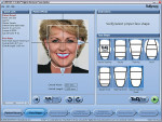 Figure 3  The TruRx Selex default face shaperecommendation is square tapering, but caneasily be overridden by the dental professionalupon patient comparison.