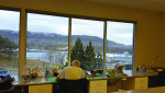 Fig 1. The view from inside Revolution Dental Prosthetics in Draper, Utah.