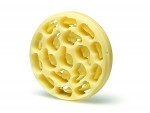 Fig 7. Milled Pro Art Wax Disc for Zenotec Yellow.