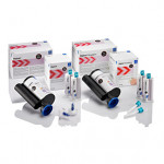 Figure 2 Silginat impression Material is available in both 50 ML and the 380 jumbo cartridge.