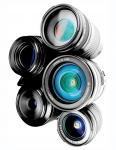 "Fig 1. Every camera lens, or ""glass,"" produces a different look and feel to the final image."