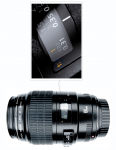 Fig 4. This dedicated lens for true macro photography uses a 1:1 magnification ratio.