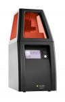 The cara Print 4.0 from Kulzer is a 3D DLP printer that produces dental appliances, layer by layer, using high-quality photopolymer materials with a variable layer thickness of 30-100 μm for fast and accurate restorations.