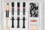 Figure  3  SHADE MATCHING VOCO Amaris Gingiva kit containing the necessary restorative materials and shade guides.