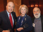 Dr. Cohen at another Shils Fund event with Claire Reichlin and Dr. Jack Dillenberg.