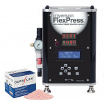 Figure 2  DuraFlex is melted and injected under pressure using Myerson's FlexPress automated digital injection system.