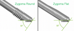 Fig 8. 55-degree implant platform for a favorable screw-channel position.