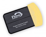 Figure 1  The Flow Dental Safe 'n' Sure Deluxe PSP Envelope with the (yellow) EZ Glide insertion tab.
